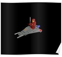 Lego Space Scooter (photo-realistic) Poster