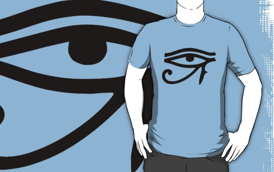 Eye of Horus (Black) by cadellin