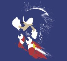 Splattery Sonic Shirt by thedailyrobot