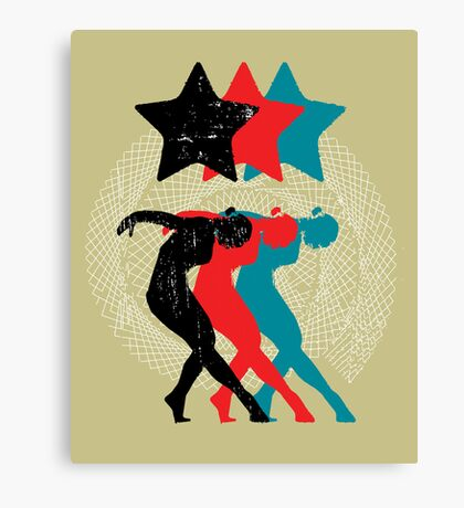 dancers Canvas Print