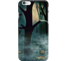 The Woods at Night iPhone Case/Skin