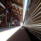 Train Fremantle - 07 03 13 One by Robert Phillips