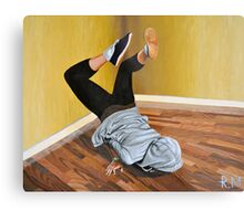 The Street Dancer Metal Print