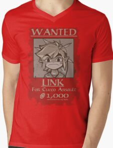 Wanted - Cucco Assault Mens V-Neck T-Shirt