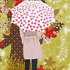 Autumn Stroll Print by David & Kristine Masterson