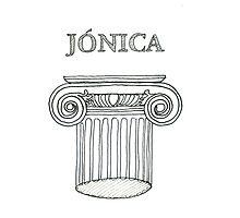 Ordem Jónica . Ionic Order. ipad by terezadelpilar~ art & architecture