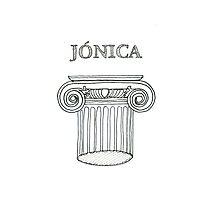 Ordem Jónica . Ionic Order. ipad Photographic Print