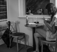 Melbourne Chatting by John Violet