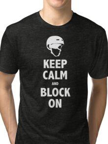 Block On Shirt Tri-blend T-Shirt
