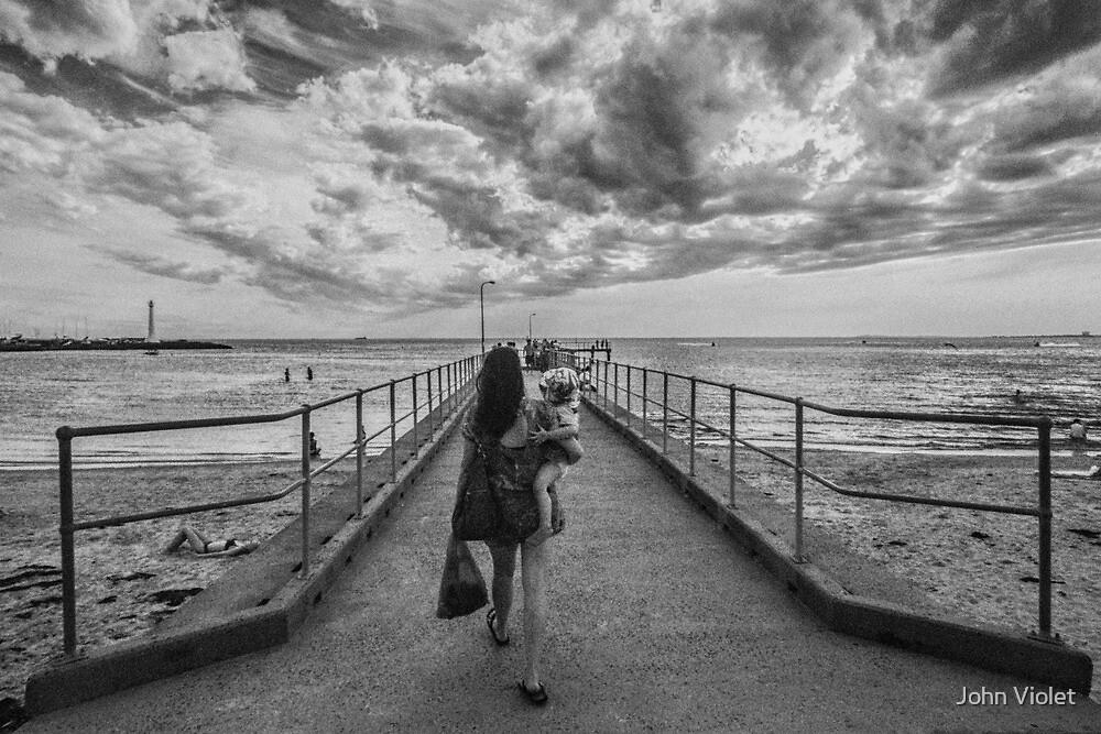 Melbourne Mother by John Violet