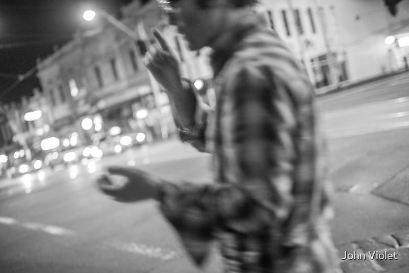 Melbourne Street by John Violet