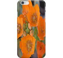 delightful orange flower iPhone Case/Skin