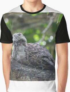 Guess Who Went Out On A Branch Graphic T-Shirt