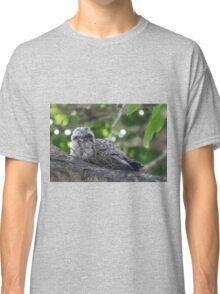 Guess Who Went Out On A Branch Classic T-Shirt