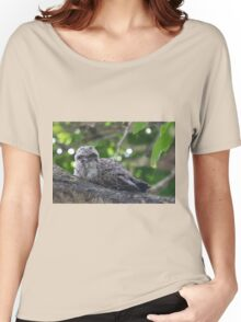 Guess Who Went Out On A Branch Women's Relaxed Fit T-Shirt