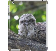 Guess Who Went Out On A Branch iPad Case/Skin