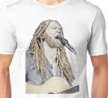 Newton Faulkner Drawing Tee (With a Splash of Colour!!) Unisex T-Shirt