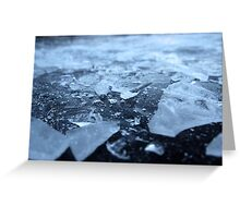 Broken Ice Greeting Card