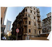 Beirut 1980s Poster