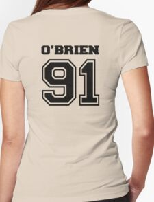 O' brien 91 dylan O'brien stilinski - BLACK Womens Fitted T-Shirt
