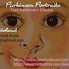 Parkinson Portraits - Business Card by Sacha Whitehead