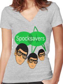 Spocksavers Women's Fitted V-Neck T-Shirt