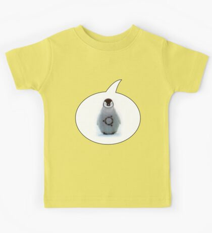 """Ubuntu"" Baby penguin tattoo Kids Tee"