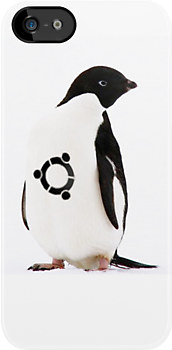 """Ubuntu"" Penguin tattoo by derekTheLair"