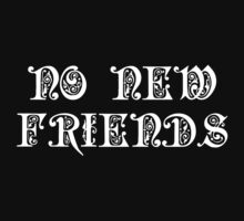 No New Friends by teetties