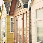 Beach Huts - Mudeford by Gisele  Morgan