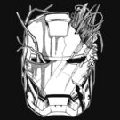 Iron Man battle scars (White) by axletee