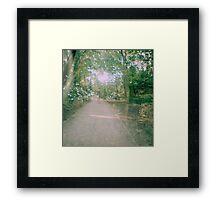 Right Path Framed Print