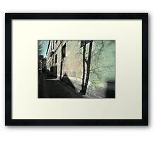 My Town in a Miraculous Moment Framed Print