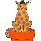 Daffy Cat by jamface