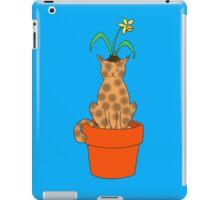 Daffy Cat iPad Case/Skin