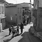 A Group of Children in Kadifekale District in Izmir, Turkey by Ilker Goksen