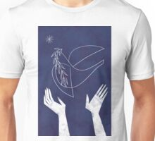 Blue Dove Unisex T-Shirt