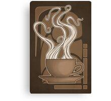 Coffee Nouveau Canvas Print