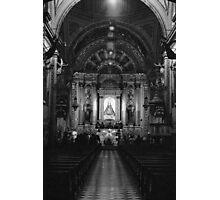 Church Interior Photographic Print
