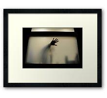 Go Away  Framed Print