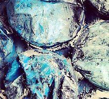 Bold Blue Bubble Design by Ellie Dolan-Roberts