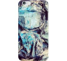 Bold Blue Bubble Design iPhone Case/Skin