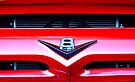 Red V8 emblem by htrdesigns