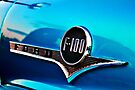 Blue F100 metal badge by htrdesigns