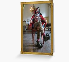 Noble Fool Greeting Card