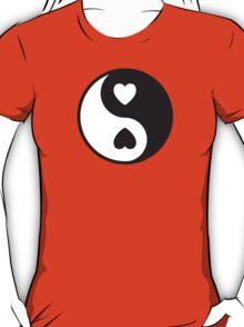 Ying Yang Hearts T-Shirt