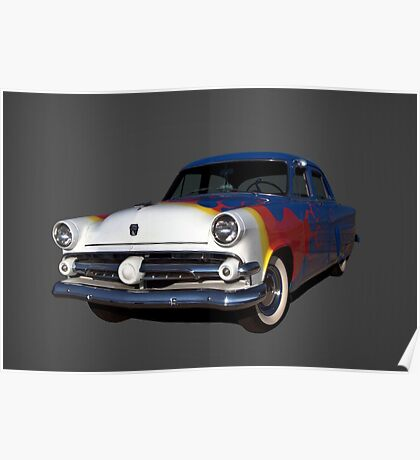 1954 Ford Street Rod Poster