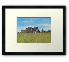 Little Grand Cottage (Watercolor) Framed Print