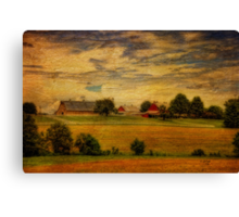 And The Livin' Is Easy Canvas Print