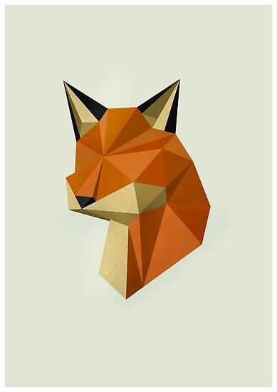 Geometric Fox by OneAlice